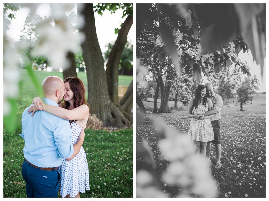 Des Moines Photographer | Waukee Iowa | Kara Vorwald Photography | Engagement session photographer | Wedding Photographer